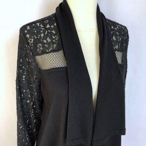 Zara Sweaters - Lace Cardigan